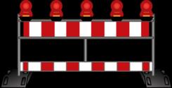 Absperrgeräte und Verkehrstechnik mieten