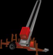 Bauaufzüge, Dachaufzüge mieten
