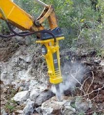 Hydraulik-Hammer mieten leihen