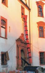 Bauschuttrohrsatz 10 m mieten leihen