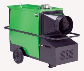 Warmlufterzeuger mit 90 kW Heizleistung mieten leihen