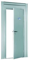 Baustellen-Schutztür Standard-Ausführung Typ OVL, Breite 790-1080 mm, Höhe 1850-2070 mm, lichte Durchgangsmaße Breite 700mm, Höhe 1810 mm mieten leihen