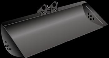 Bagger-Grabenlöffel  60 oder 80 cm_MS01 mieten leihen