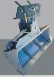 Grabenräumlöffel hydraulisch mieten leihen