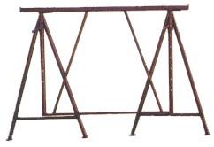 Gerüstbock Stahlrohr mieten leihen