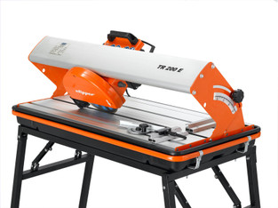 Fliesenscheidmaschine - Tischsäge, elektrisch, Kopf schwenkbar  mieten leihen
