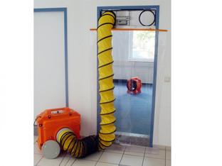 Staubschutzsystem mieten leihen