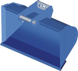 Grabenräumer für Bagger 3,5-5,0 t mieten leihen