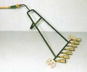 Aufschweißbrenner / Anwärmbrenner / Flächentrockner Gas - 7-flammig mieten leihen