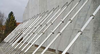Stahl-Richtstreben  mieten leihen
