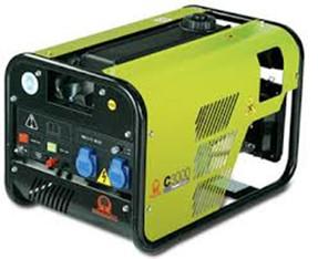 Stromerzeuger bis 3 kW mieten leihen