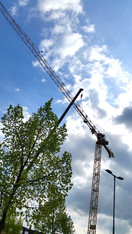55 m Obendreher Baukran mieten leihen