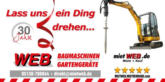 Mini-Bagger   bis 1,5 to + Anhänger  _AKTION mieten leihen
