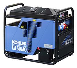 Stromerzeuger/Stromaggregat 11,5 kW inkl. Radsatz und 400 V -Anschluss mieten leihen